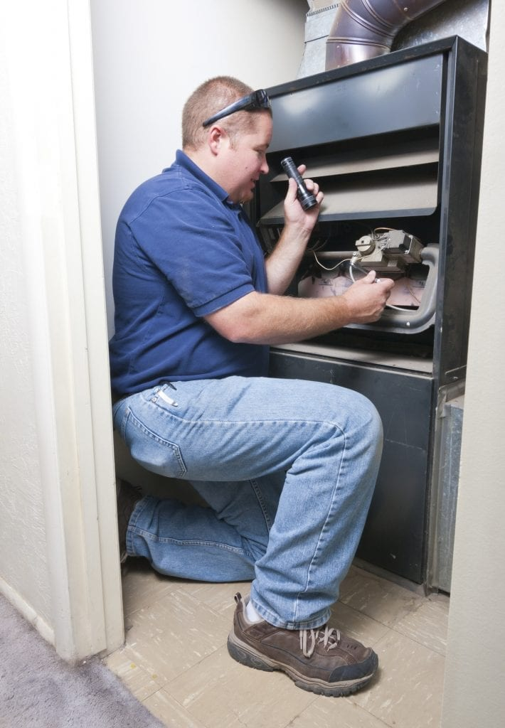 Furnace maintenance